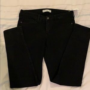 Abercrombie and Fitch black super skinny jeans